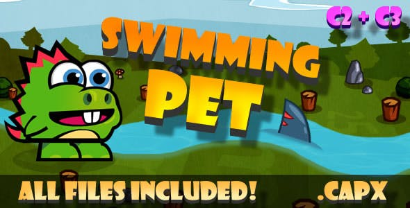 Swimming Pet (C2,C3,HTML5) Game