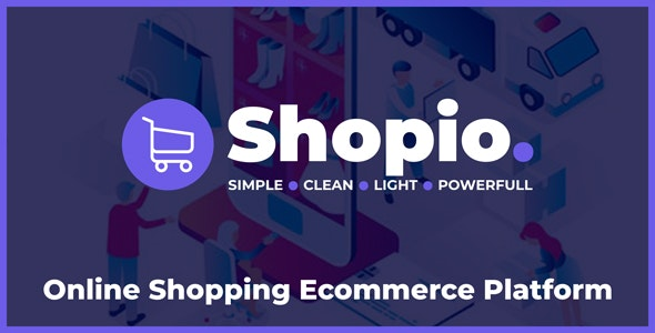 Shopio - Online Shopping Ecommerce Platform - CodeCanyon Item for Sale