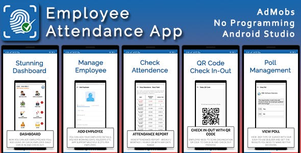 Employee Attendance System - Leave, Salary etc