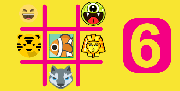 6 TIC TAC TOE BUNDLE GAMES | HTML5 GAMES