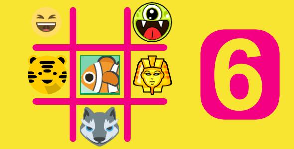 6 TIC TAC TOE BUNDLE GAMES | HTML5 GAMES