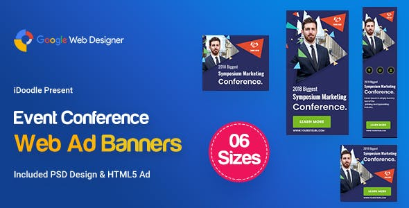 C11 - Event Conference Banners GWD & PSD