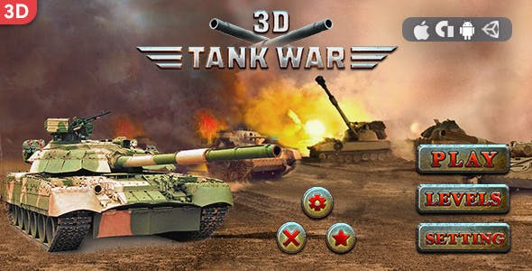 3D Tank War (Android & IOS)