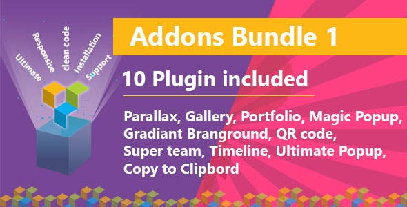 Ultimate Bundle One for WPBakery Page Builder (formerly Visual Composer)