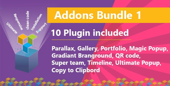 Ultimate Bundle One for WPBakery Page Builder (formerly Visual Composer) - CodeCanyon Item for Sale