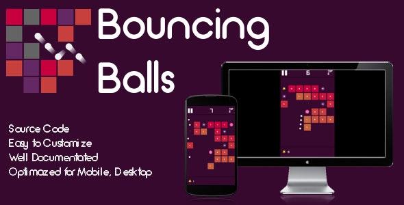 Bouncing Balls - Brick Breaker Game - CodeCanyon Item for Sale