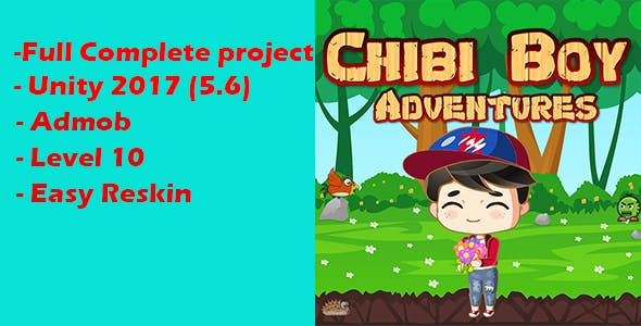 Adventures Chibiboy with Admob