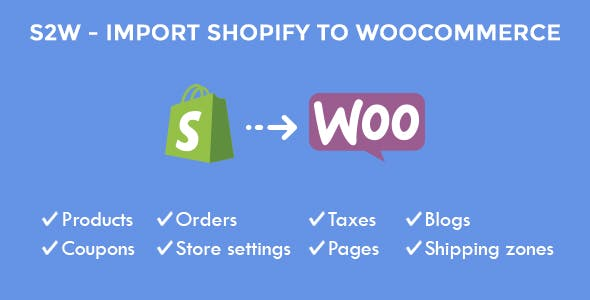 Import Shopify to WooCommerce - Migrate Your Store from Shopify to
