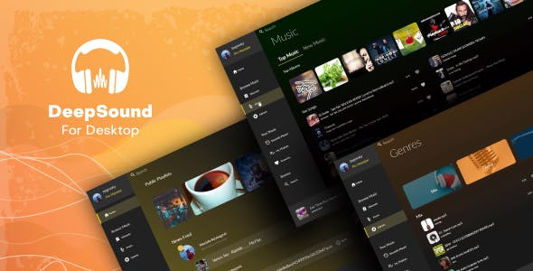 DeepSound Desktop - A Windows Sound & Music Sharing Platform Application