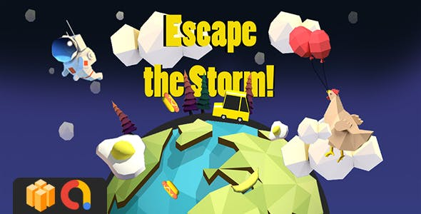 Escape the Storm! - BUILDBOX Project + Admob - CodeCanyon Item for Sale