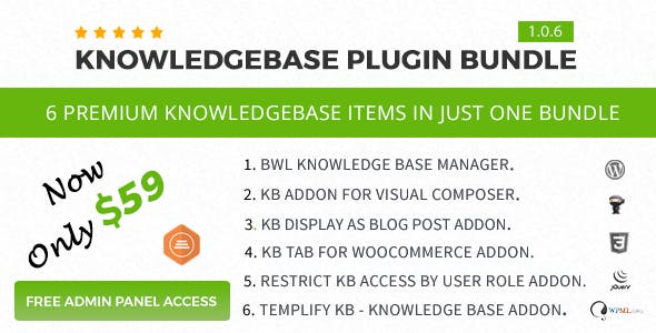 Knowledge Base Plugin Bundle For WordPress