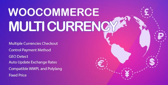 WooCommerce Multi Currency - Currency Switcher        Nulled