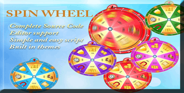 Make A Spin App With Mobile App Templates from CodeCanyon