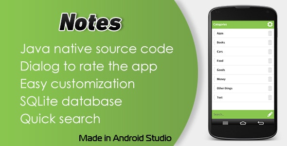 Notes - CodeCanyon Item for Sale