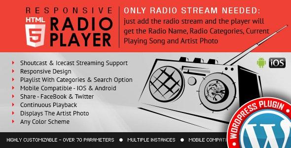 radio player shoutcast and icecast wordpress plugin free download