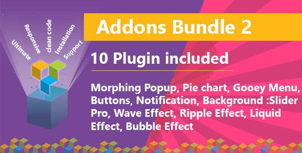 Ultimate Bundle Two for WPBakery Page Builder (formerly Visual Composer)