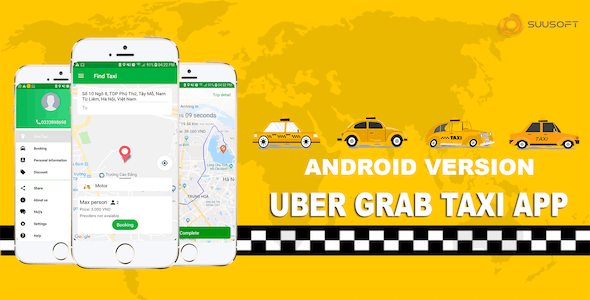 Uber Grab Taxi Android