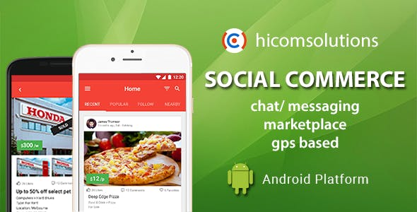Social Commerce Marketplace Android App