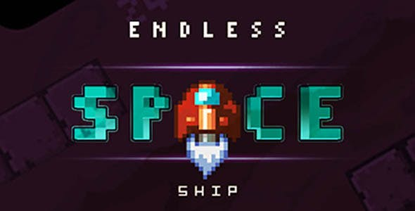 Endless Spaceship - Buildbox Template ready to Publish