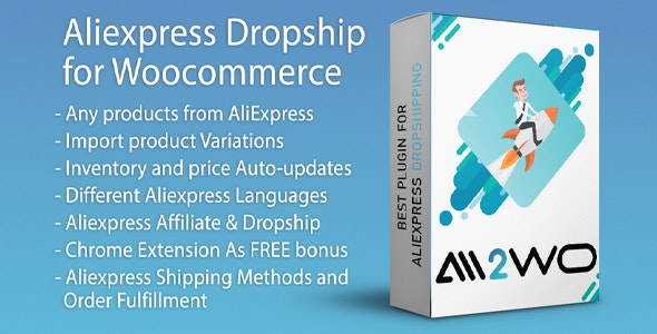 AliExpress Dropshipping Business plugin for WooCommerce - CodeCanyon Item for Sale