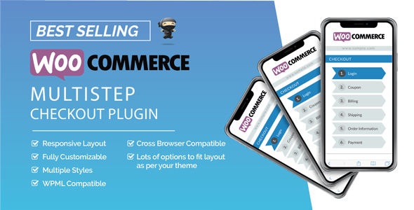 WooCommerce MultiStep Checkout Wizard        Nulled