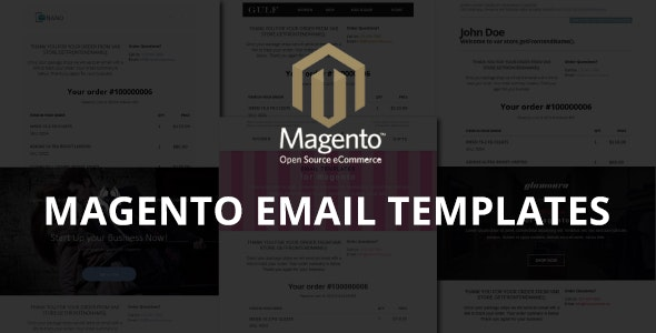 Magento Email Templates - CodeCanyon Item for Sale