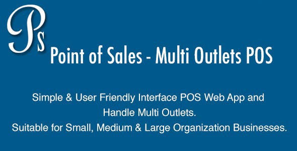 Point of Sales - Multi Outlets POS