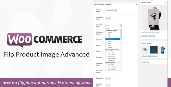 WooCommerce Flip Product Image Advanced