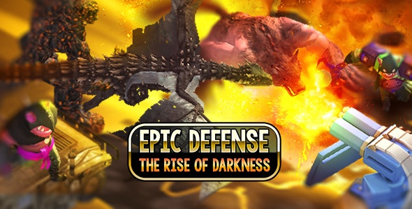 Epic Defense - The Rise Of Darkness Unity Template - CodeCanyon Item for Sale
