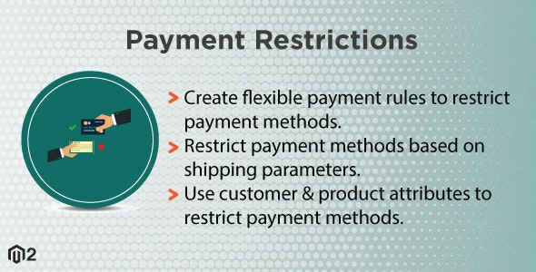 Magento 2 Payment Restrictions - CodeCanyon Item for Sale