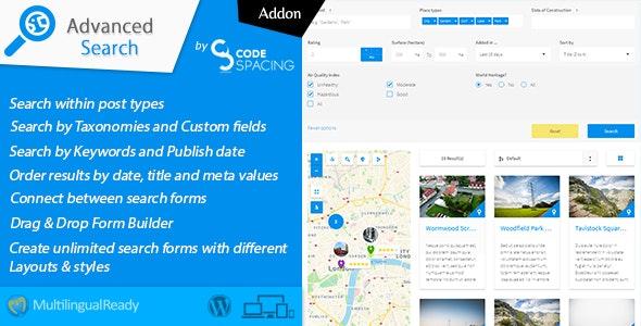 Wordpress Search Plugin by Codespacing