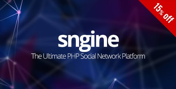 Sngine - The Ultimate PHP Social Network Platform - CodeCanyon Item for Sale