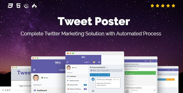 Tweet Poster - Powerful Twitter Schedule Tweets App