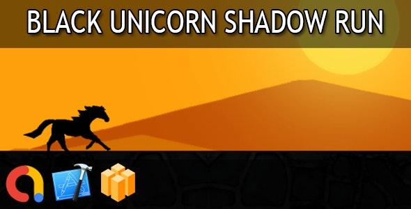 Black unicorn shadow run - iOS Xcode 10 + Buildbox Template + Admob - CodeCanyon Item for Sale