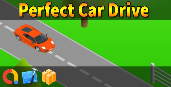 Drive and Park Perfect Car - iOS Xcode 10 + Buildbox Template + Admob