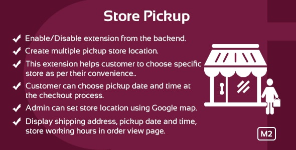 Store Pickup Magento 2 Extension - CodeCanyon Item for Sale