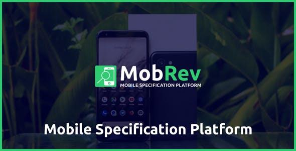 MobRev - Mobile Specification Platform - CodeCanyon Item for Sale