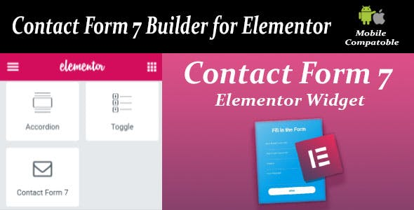 Contact Form Seven CF7 Builder for Elementor