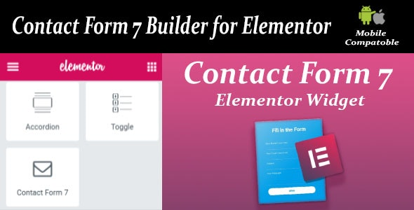 Contact Form Seven CF7 Builder for Elementor - CodeCanyon Item for Sale