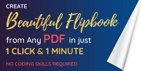 Convert PDF into Flipbook or Create Flipbook Online