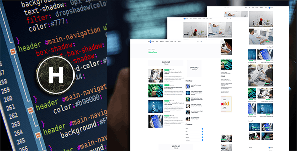 Hcode – News Programming System with Website