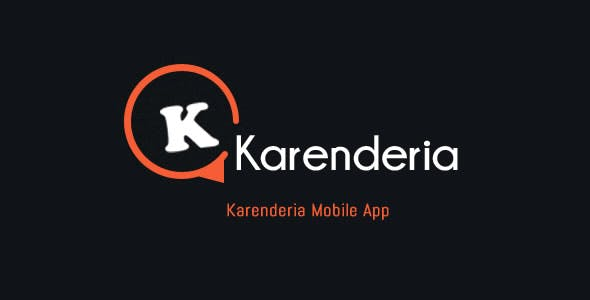 Karenderia Mobile App