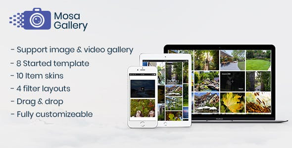 Mosa Wordpress Gallery Plugin - CodeCanyon Item for Sale