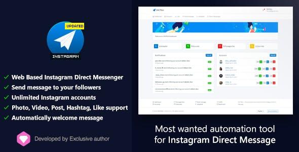 Mass Planner Instagram Direct Messaging Update | Hack