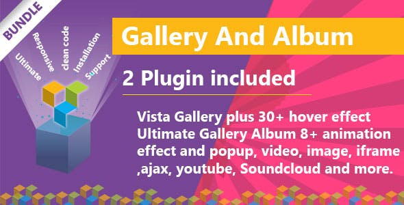 Visual Composer - Gallery And Album Bundle - CodeCanyon Item for Sale