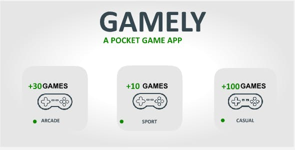 Games Pocket app - HTML5 Games store with Realtime Firebase Database + Admob integration