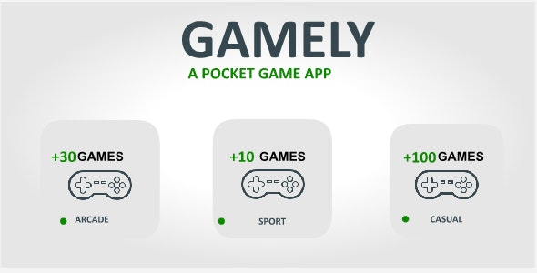 Games Pocket app - Games store with Realtime Firebase Database + Admob integration - CodeCanyon Item for Sale