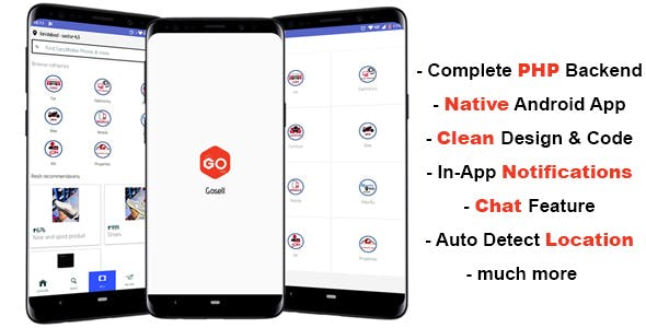 GoSell | Classified Ads Android App | OLX CLONE - CodeCanyon Item for Sale
