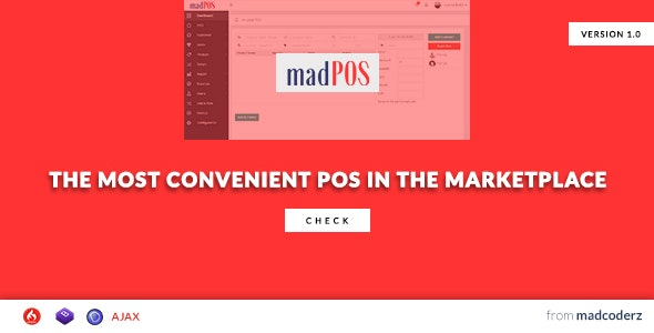 MadPOS - a convenient POS & Store Management System - CodeCanyon Item for Sale