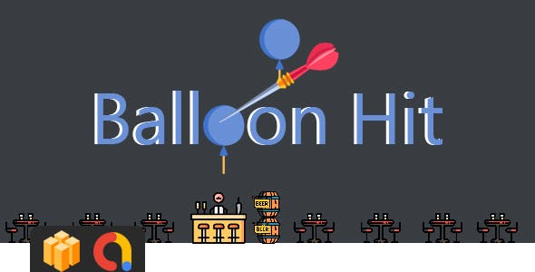 Balloon Hit - BUILDBOX Project + Admob - CodeCanyon Item for Sale